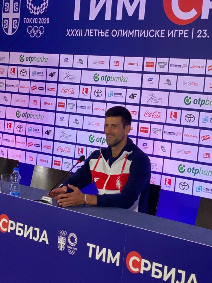 Novak Đoković uz himnu ispraćen u Tokio